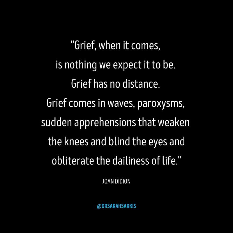 grief quotes joan didion